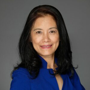 Eileen Yue-Ling Han PhD, LAc., Director of The Academy of Acupuncture certified Gold Level practitioner San Diego CA